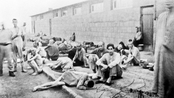 Jews in a Concentration Camp
