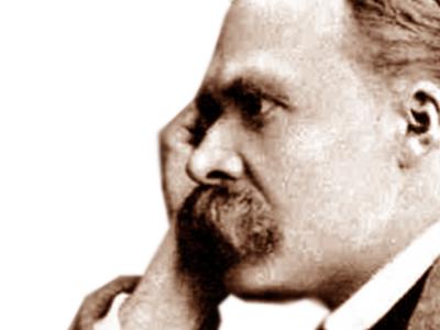 Philosopher, poet and critic Friedrich Nietzsche