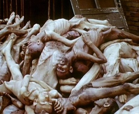 Bodies from a Death Camp in