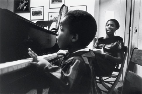 Nina Simone with daughter Simone