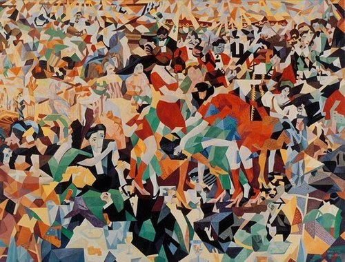 Dancing the Pan-Pan at the Monico- Gino Severini