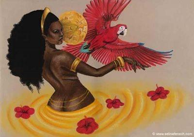 Oma Oshun, Nigerian Yoruba Goddess of Love and Sensuality