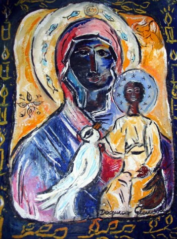 """Black Madonna"" by Dagmar Glemme"