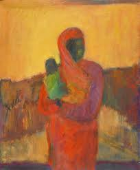 """""""Mother and Child"""" by Elinor Tourtellot"""