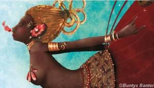 """""""Oshun"""" by Bunty's Banter. Yoruba Goddess of love."""
