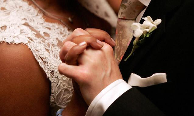 black woman wihite man marriage